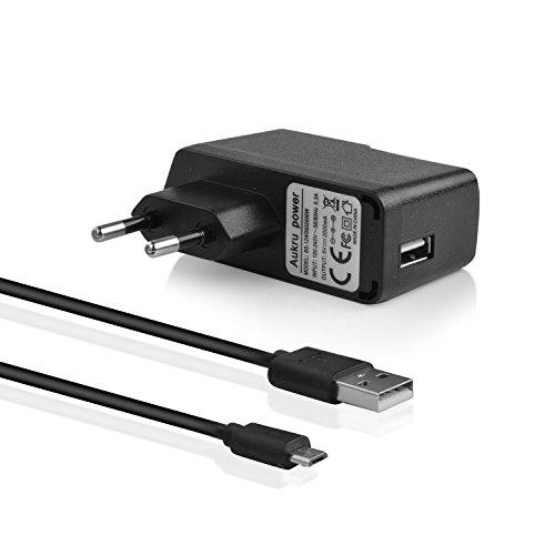 3dc83a67047bf Aukru 2in1 USB Netzadapter Ladegerät 5V 2000mA mit Micro USB Kabel für  Raspberry Pi